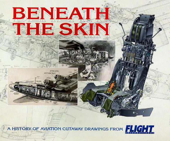 Detail from cover of Beneath the Skin by Tim Hall